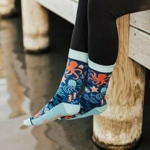 🆕 Under the Sea Crew Socks